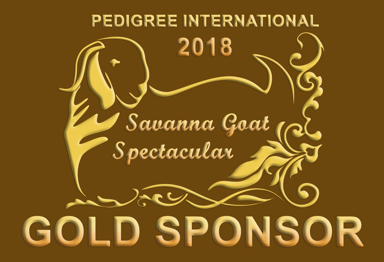 Pedigree International 2018 Gold Sponsor